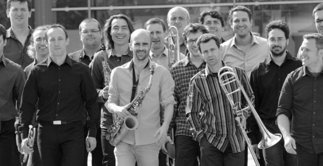 L'Oeuf big band - Boris Pokora