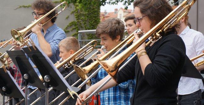 Ensemble trombones