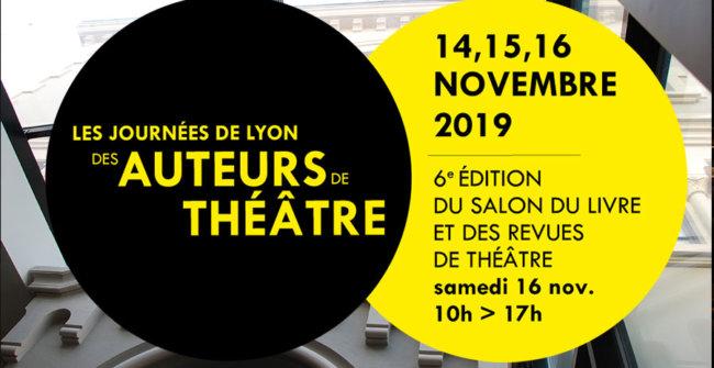 Journée de Lyon des Auteurs de Théâtre